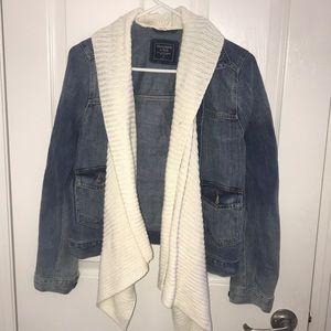 Abercrombie & Fitch jean jacket size M